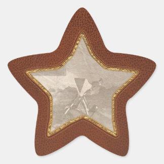Abandoned - Left behind Star Sticker