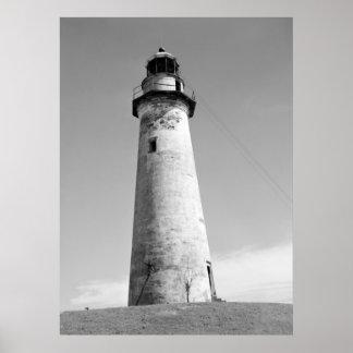 Abandoned Lighthouse, Port Isabel, Texas, 1942 Poster
