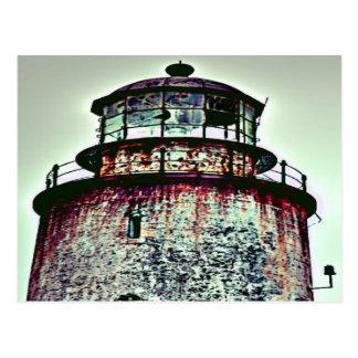 Abandoned Lighthouse Postcard