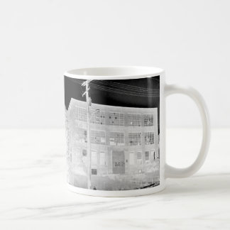 Abandoned Manufacturing Building - negative Coffee Mug