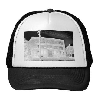 Abandoned Manufacturing Building - negative Trucker Hat