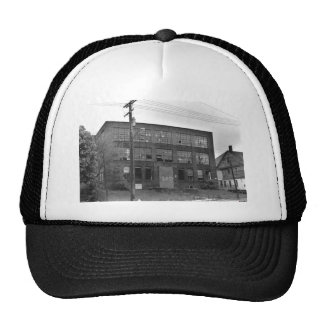 Abandoned Manufacturing Building Trucker Hat