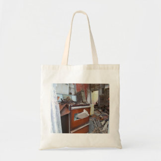 Abandoned Mess in Abandoned Business Tote Bag