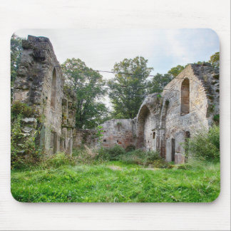 Abandoned Monastery Mouse Pad