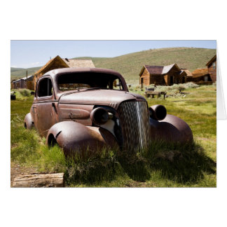 Abandoned Old Chevy Greeting Card