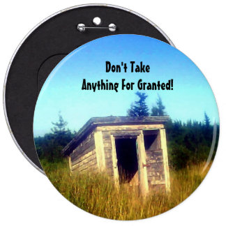 Abandoned Outhouse Button