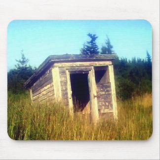 Abandoned Outhouse Mousepad