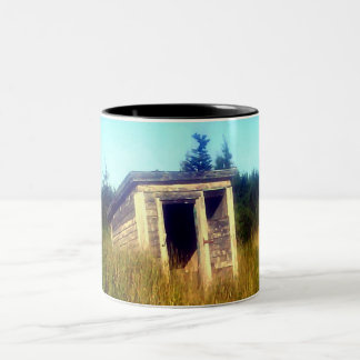 Abandoned Outhouse Mug
