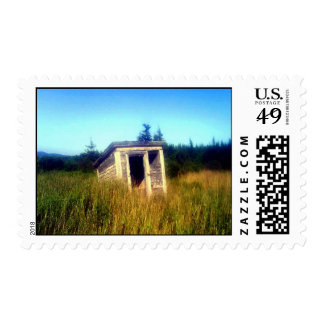 Abandoned Outhouse Stamp