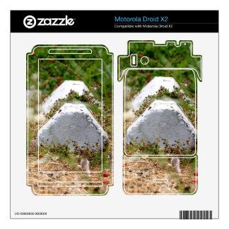 Abandoned Parking Lot Motorola Droid X2 Decals