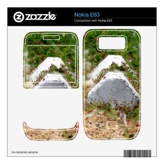 Abandoned Parking Lot Nokia E63 Decal