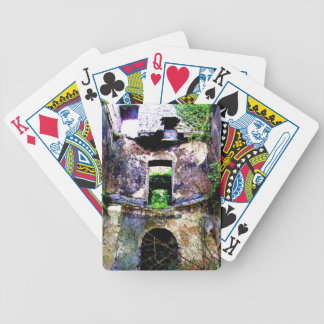 Abandoned Place Playing Cards