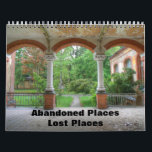 """Abandoned Places - Lost Places Calendar<br><div class=""""desc"""">Lost in time and forgotten places.</div>"""