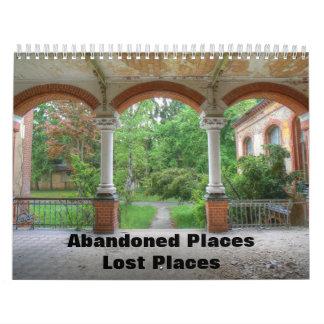 Abandoned Places - Lost Places Calendar