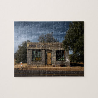 Abandoned Post Office in Kelso California Jigsaw Puzzle