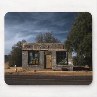 Abandoned Post Office in Kelso California Mouse Pad