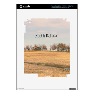 Abandoned Prairie Homestead In North Dakota #3 Decals For iPad 3
