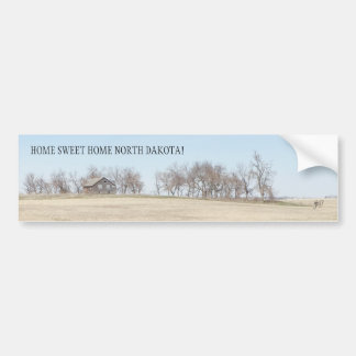 Abandoned Prairie Homestead In North Dakota #3B Bumper Sticker