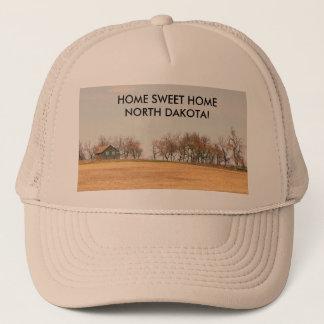 Abandoned Prairie Homestead In North Dakota #3B Trucker Hat