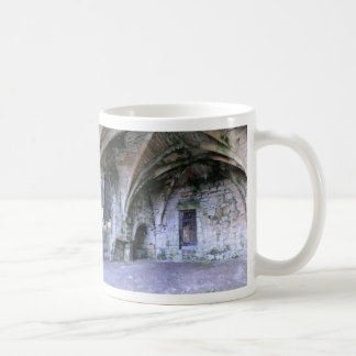 Abandoned Room in the Ruins of Culross Abbey Classic White Coffee Mug