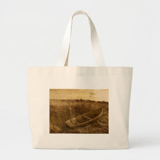 Abandoned Rowboat Tote Bags