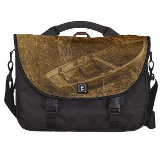 Abandoned Rowboat Laptop Bag