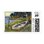 Abandoned Rowboat- stamps