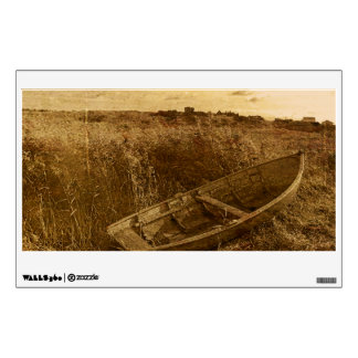 Abandoned Rowboat Wall Decal