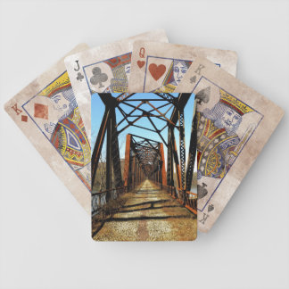 Abandoned RR Bridge Playing Cards