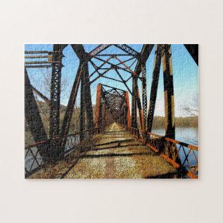 Abandoned RR Bridge Puzzle