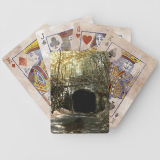 Abandoned RR Tunnel #1 Playing Cards