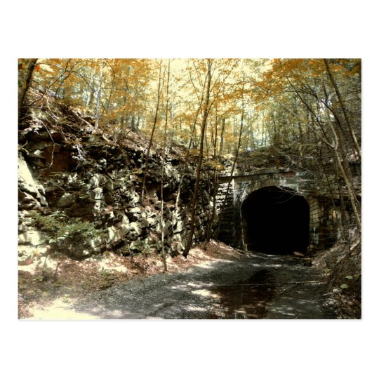 Abandoned RR Tunnel #1 Postcard