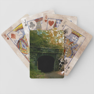 Abandoned RR Tunnel #2 Playing Cards