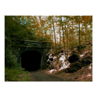Abandoned RR Tunnel #2 Poster
