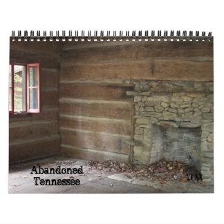 Abandoned Tennessee Calendar