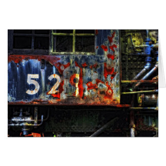 Abandoned Train 529 Stationery Note Card