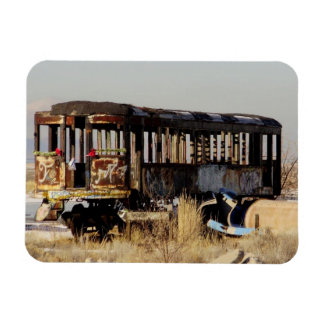 Abandoned Train Magnet
