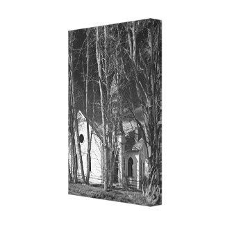 Abandoned Turn-of-the-Century Church Canvas Print
