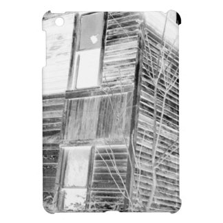 Abandoned Two Story House - negative Cover For The iPad Mini