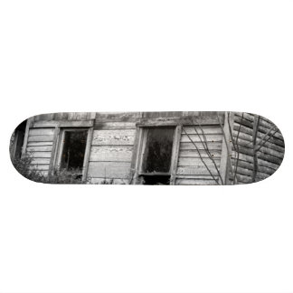 Abandoned Two Story House Skateboard Deck