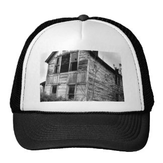 Abandoned Two Story House Trucker Hat