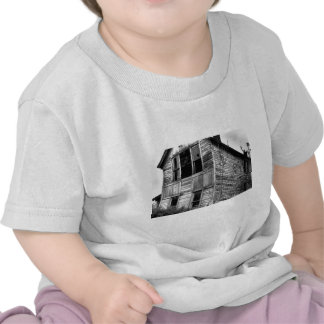 Abandoned Two Story House Tee Shirts