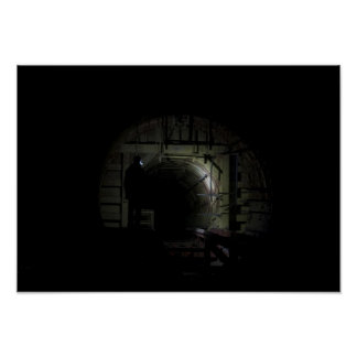 Abandoned Underground Missile Silo Poster