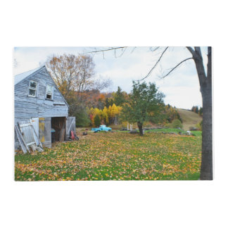 Abandoned Vermont Homestead Laminated Placemat