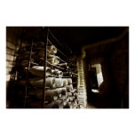Abandoned Wine Cellar Poster