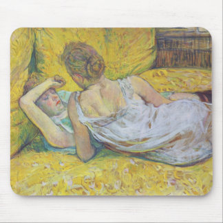Abandonment The Pair by Henri de Toulouse-Lautrec Mouse Pad