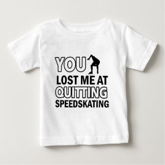 Abandono del Speedskating Playera Para Bebé