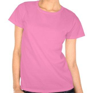 Abaraham Lincoln T-Shirt (Pink -- Ladies)