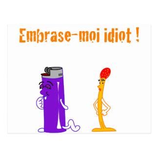 ¡Abarcaban -moi idiota! (Francois Ville) Tarjeta Postal