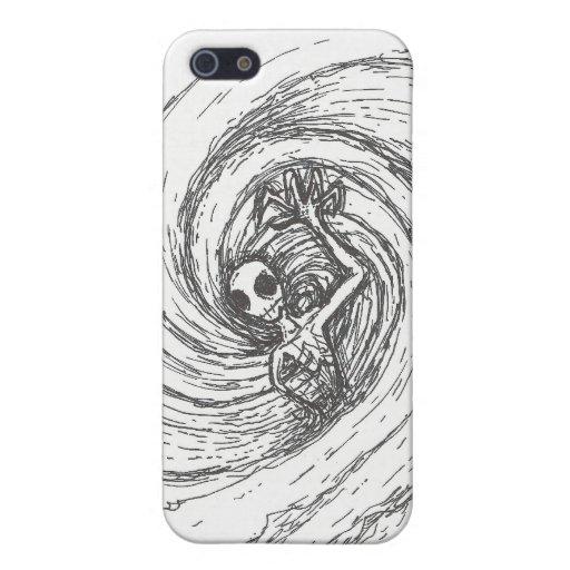 Abarcamiento espiral iPhone 5 carcasas
